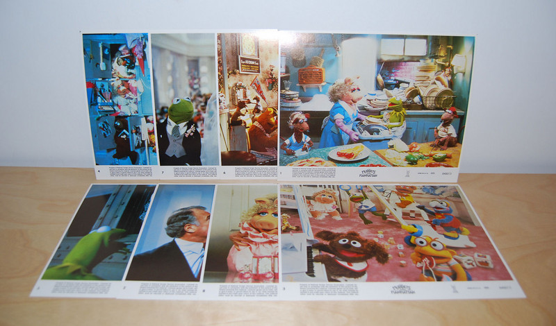 The Muppets Take Manhattan lobby cards