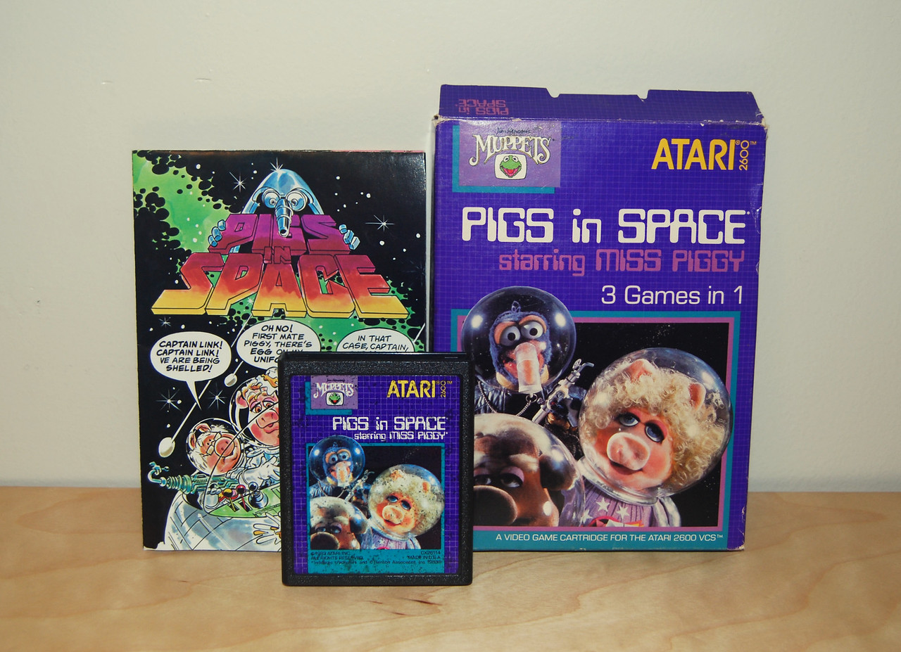 Pigs in Space Atari game