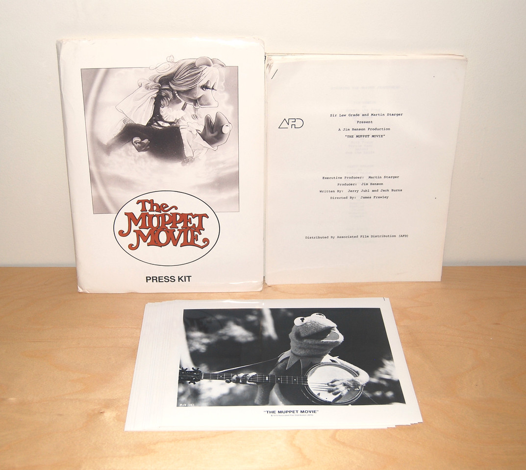 The Muppet Movie press kit
