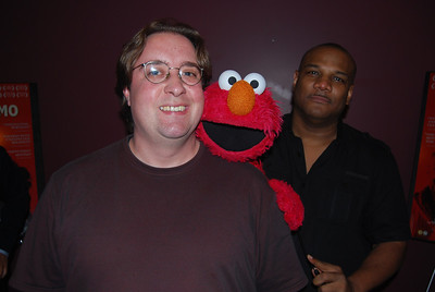 Kevin Clash and Elmo