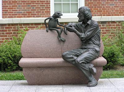 Henson Statue at University of Maryland