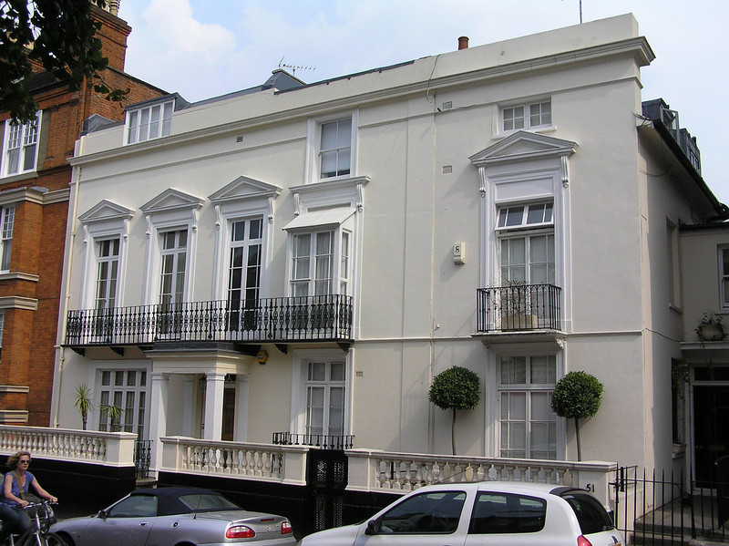 Henson residence<br /> Hampstead