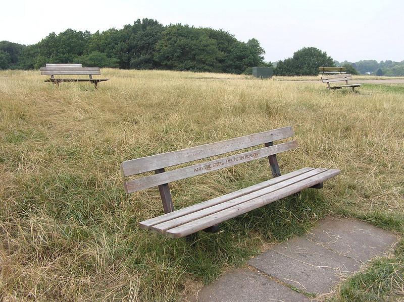 Sahlin/Henson bench<br /> Hampstead Heath