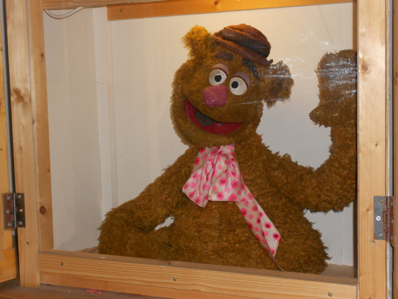 I'm not sure if this was the very first Fozzie puppet made, but it does appear to be one of the earliest.