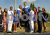 LHS <br /> Center Queen Jocelyn Dutra and King Kendrick Fraiser<br /> Homecoming Royal Court<br /> 9th Ibraheem Shamseldin and Melissa Diaz, 10th Tremaine Moore and Alyssa Hariprashad, 11th James Dickerson and Jillian Dutra, 12th Kenny Pruitt and Gloria Clarkson. Photo by Kathy Leistner