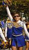 Varsity Cheerleader. Lawrence HS Homecoming Parade. October 20th, 2007. Photo by Kathy Leistner
