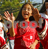 Inwood Buccaneers waves to the crowd. Lawrence HS Homecoming Parade. October 20th, 2007. Photo by Kathy Leistner