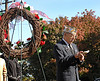 Chaplain of VFW 2307 reads a prayer at the Veteran's Day Ceremony. Lynbrook Veteran's Memorial Day Service, November 11th, 11 am, 2007. Photo by Kathy Leistner