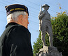 Lynbrook Veteran's Memorial Day Service, November 11th, 11 am, 2007.  Photo by Kathy Leistner
