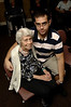 Grandmother Theresa Dettner, 90 years old, with her grandson, Michael Dettner, 21. Grandparents Day, September 9th, 2007. Lynbrook Atria. Photo by Kathy Leistner