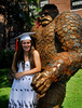 Member of the Class of 2007, Kelly Humes, will be heading to New Hampshire's Keen State College. Kelly was also the recipient of the The Anthony Urbano Memorial Scholarship, E. Rockaway Commuters Club Scholarship, and the Independent Coach Memorial Award. E Rockaway HS Commencement, June 24th, 2007.  Photo by Kathy Leistner