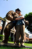 Michael J. Ruocco creator of the 7 foot tall Rockman, will be attending the School of Visual Arts in the fall. Michael  received three awards at graduation, including the ERHS PTA Lois Cangelosi Fine Arts Award. June 24th, 2007. Photo by Kathy Leistner
