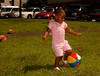 Mikayala Scott,2, Inwood, enjoys the games for kids provided at the  5th Annual Family Unit Day, August 11th, 2007. Photo by Kathy Leistner
