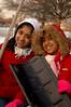 L- R Sheena and Serena Samu, Elmont, NY. February 14th, 2007. Photo by Kathy Leistner