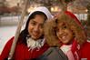 L- R Sheena dn Serena Samu, Elmont.  NY. February 14th, 2007. Photo by Kathy Leistner