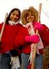 L- R Sheena and Serena Samu , Elmont, NY. Photo by Kathy Leistner