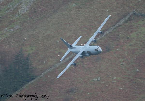 ZH874/'874' C-130J-30 C.4 - 11th December 2007.