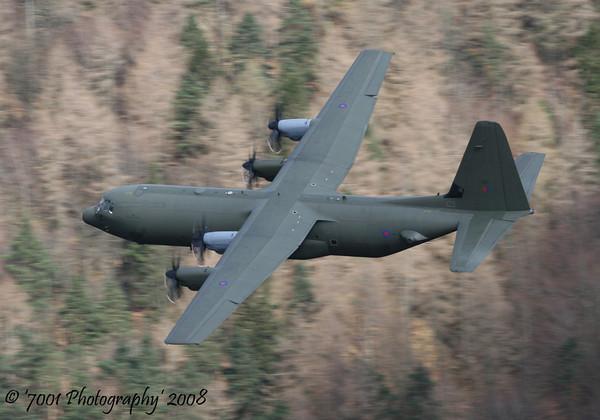 ZH867/'867' C-130J-30 C.4 - 31st March 2008.