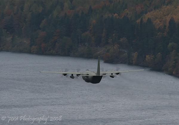 XV197/'197' C-130K C.3 - 28th October 2008.