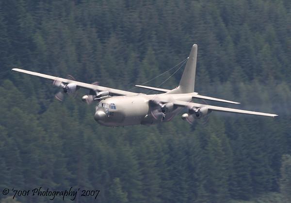 XV202/'202' C-130K C.3 - 24th July 2007.