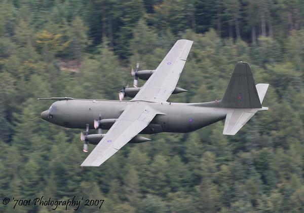 XV197/'197' C-130K C.3 - 28th August 2007.