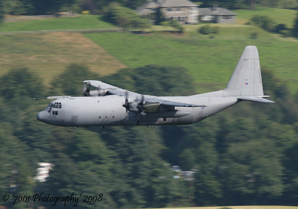 XV212/'212' C-130K C.3 - 27th July 2008.