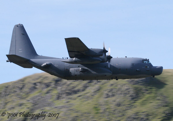 87-0023 (352 SOG/7 SOS) MC-130H - 5th October 2007.