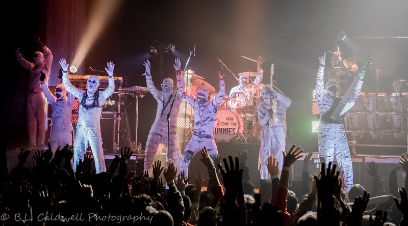 Here Come the Mummies - Newport Music Hall 11-7-14