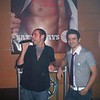 Woody Woodbeck and Andrew Christian. I like this picture of Andrew. Such a cutie!