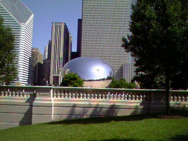 Millenium Park Cloudgate Sculpture