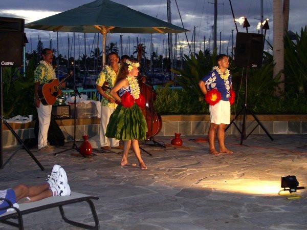 Hula Show at the Ilikai Hotel