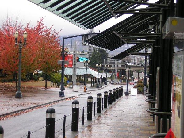 Oregon Convention Center MAX Platform