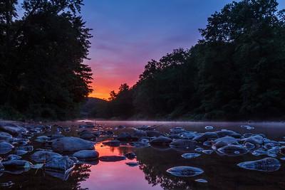 Sunrise on the Millers