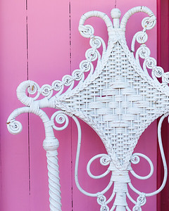 Pink House Wicker