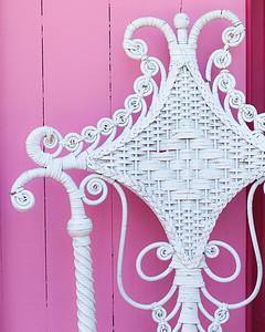 Pink House Wicker