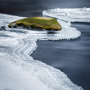Winter Ice on the Millers