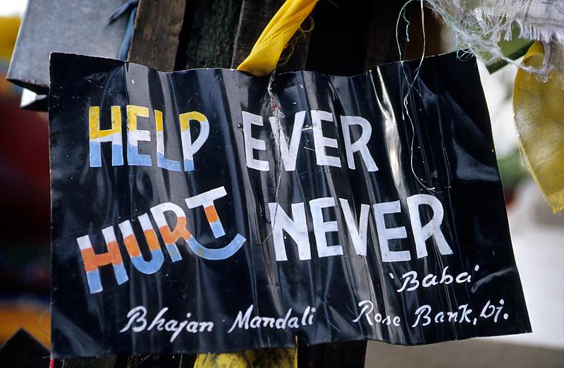 Sign, Darjeeling. East India.
