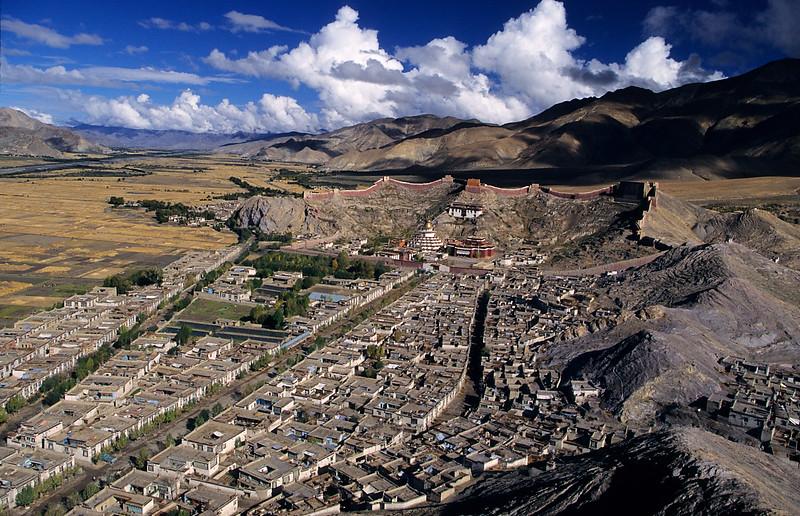Pelkor Chöde Monastery. Gyantse. Tibet.