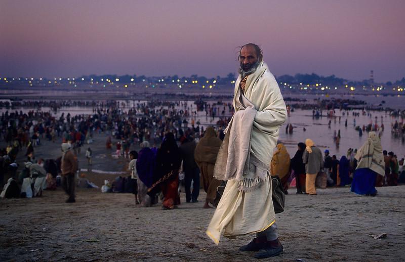 Khumb Mela, Sangam. Allahabad. India.
