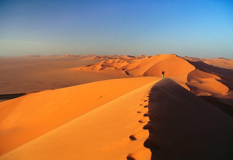 Erg Murzuq, Sahara desert. Libya.