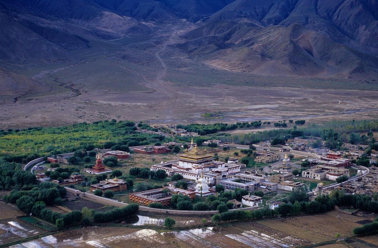 Samye Monastery. Tibet.