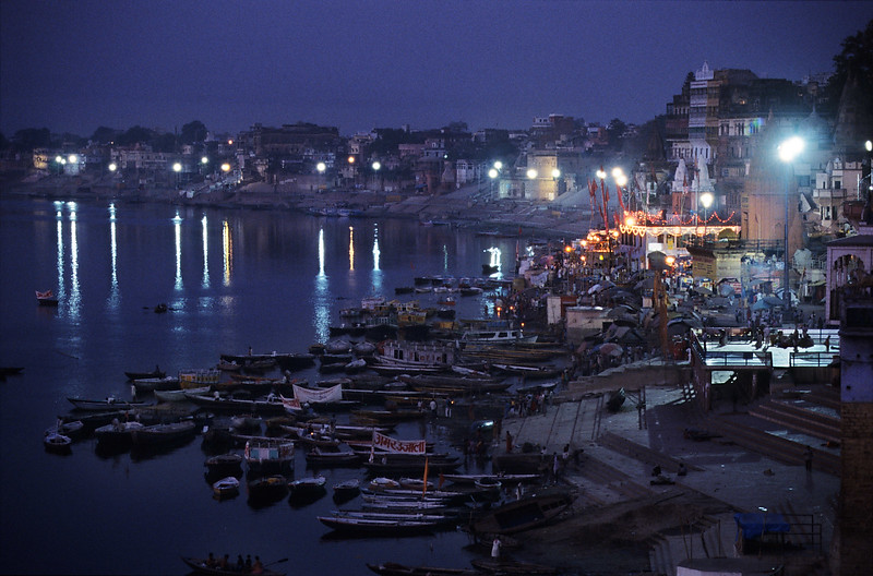 Early morning, Varanasi. India.