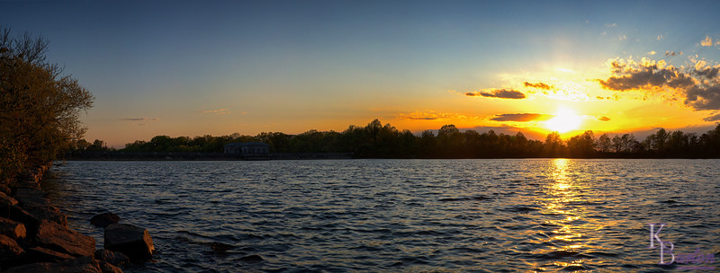 DSC_6096 Silver Lakes sunset pano