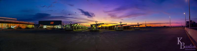 St. George terminal at dawn