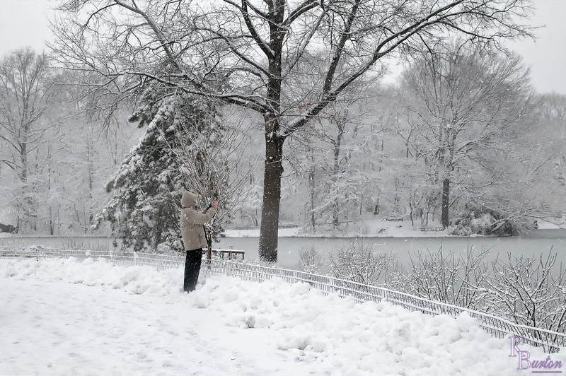 DSC_1155 winter scene - lake at Bethesda Terrace