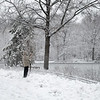 DSC_1155 winter scene - lake at Bethesda Terrace