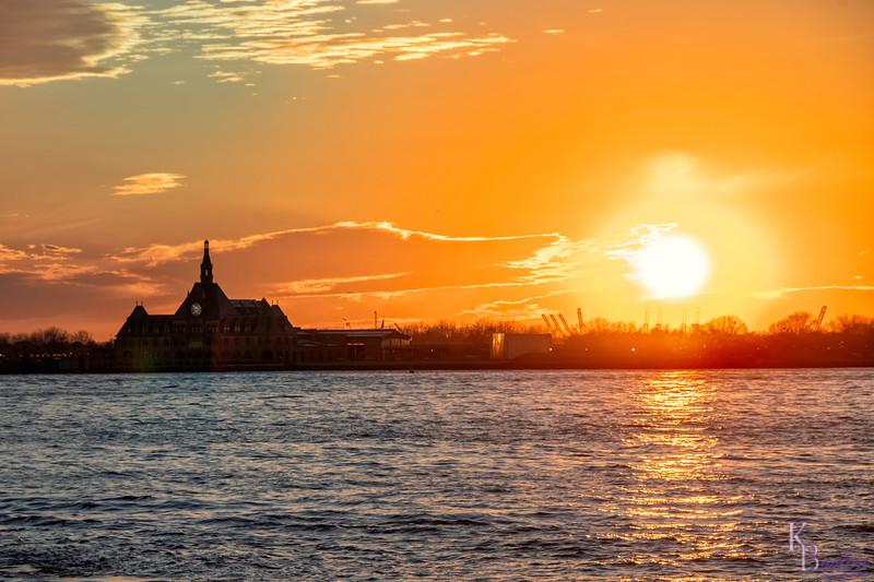 DSC_3745 sundown scenes from Battery Park City