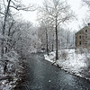 The march Nor'easter and the old Stone Mill
