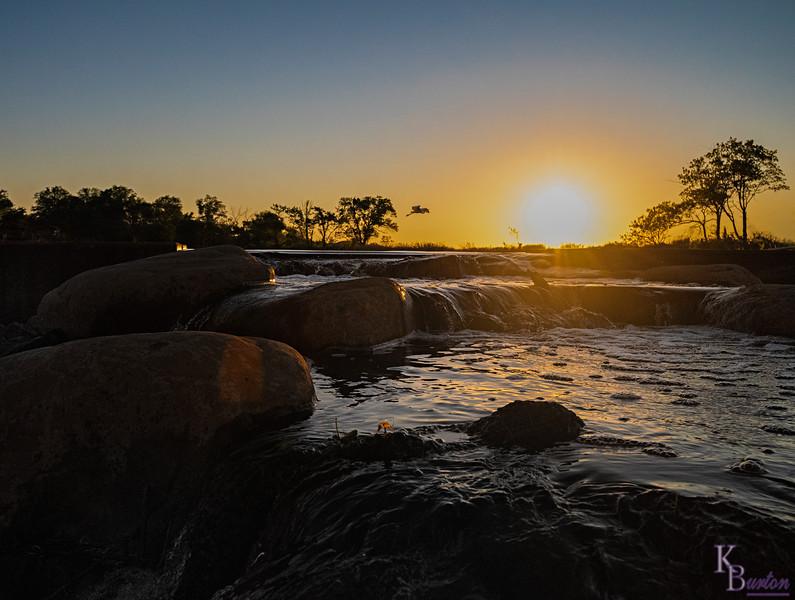 DSC_7500 sunrise at Wolfe's pond