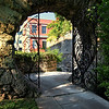 I loved this moon gate at the Par-La-Ville park in Bermuda